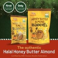 Honey Butter Almond 180 gram, HALAL