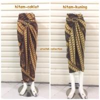 Rok Lilit Serut Batik R030 Motif Parang Bawahan Wanita maxi skirt wrap