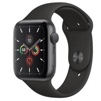 Apple watch seri 5 44mm space grey garansi resmi