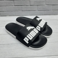 Sandal Slide Puma Putih Hitam Grade Original + Paperbag