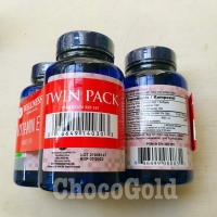 TWIN PACK Natural Vitamin E 400iu Asli WELLNESS isi 150+150 softgels