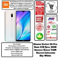 Xiaomi Redmi 8A PRO 2GB/32GB 8Apro 8 a 2/32GB 2/32-Garansi-Resmi-White