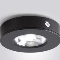 Downlight ob LED 5w /lampu lemari body hitam ARTALUX - WARM WHITE