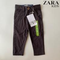 Zara Boy Celana Anak Chinos Long Pants Dark Grey