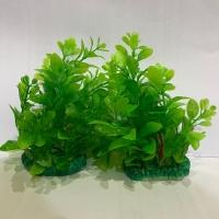 Tanaman bunga hias plastik aquarium aquascape import aksesoris M404