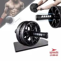 AB Roller Wheel Pull Rope Fitness Equipment Untuk Latihan Perut 009-03