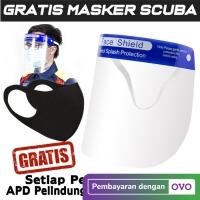 Apd Pelindung Wajah Face Shield Import Anti Corona