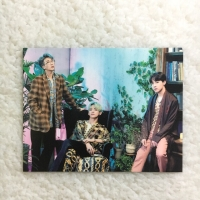 BTS 5th Muster RM Taehyung JHope Postcard