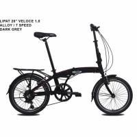 Sepeda Lipat Folding Bike Pacific Veloce 1.0 Alloy 20 7 Speed
