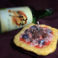 Kerajinan lilin wax pie buah
