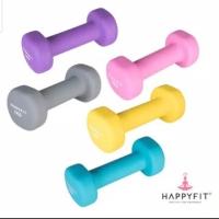 Happyfit 2 KG Dumbell barbel Neoprene Non-Slip Dumbbell (2 PCS)