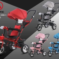 Sepeda Anak Roda Tiga Exotic ET1259-1 Baby Stroller Tricycle ET 1259