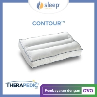 SLEEP CENTER Therapedic Contour Pillow / Bantal