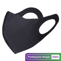 Masker Kain Scuba TST Anti Polusi Tahan Air (6 Pcs)