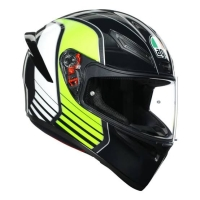 AGV K1 Power Gunmetar White Green