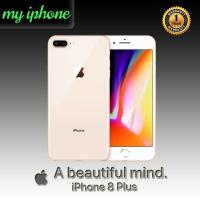 APPLE IPHONE 8 PLUS 64GB GOLD FU GSM GARANSI 1 TAHUN