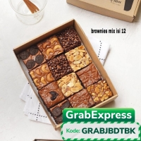 brownies Mix 8 topping / brownies