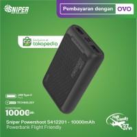 Powerbank Sniper 10000 mAh Powershoot S412201