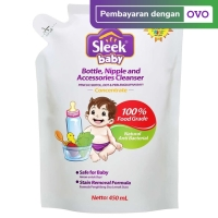 SLEEK Bottle Nipple & Baby Accessories Cleanser 450ml