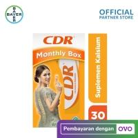 CDR Suplemen Kalsium Rasa Jeruk 30 Tablet - Monthly Box