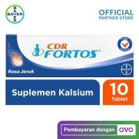 CDR Fortos Suplemen Kalsium 10 Tablet