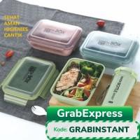 Lunch Box Kotak Makan 1 Lapis 4 Sekat