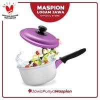 Maspion Panci Winter Single Handle 16 Cm Violet - Panci Aluminium
