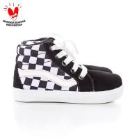 Sepatu sneakers Anak unisex tali tinggi
