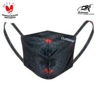Masker Kain Anti Virus DK MASKER CARBON BLACK (1 Pcs)