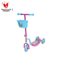 Scooter S-01 CAT (Pink Biru) PMB