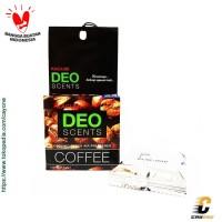 DEO SCENT KAGUMI Organic Block Parfum Pengharum Pewangi Mobil - Coffee