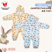 Blessing Babywear-Jumper panjang rib topi-SZ: All-size-f-adw