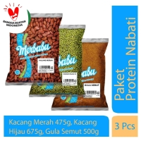 Merbabu Protein Nabati BONUS Gula (Bisa Same Day Delivery)
