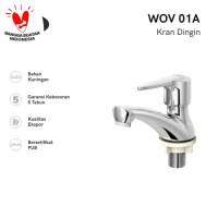AER Kran Air Wastafel Kuningan / Brass Basin Faucet WOV 01A