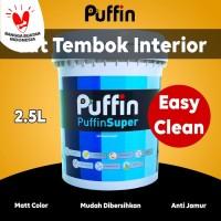Cat tembok interior PUFFIN SUPER easyclean 2.5L
