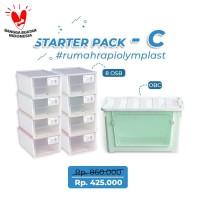 STARTERPACK RUMAH RAPI OLYMPLAST - PAKET C (1OBC & 8OSB)