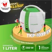 Magic Cooker Exclusive Tokopedia - Penanak Nasi 3 In 1 Kapasitas 1.0 L