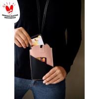 Tempat Hand Phone/ Tempat ID Card Warna Pink
