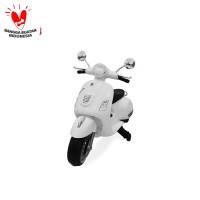 Mainan Motor Aki M-288 (putih) PMB