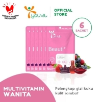 Youvit Gummy Multivitamin Beauti+ Multivitamin [1 Box/ 6 Sachet]