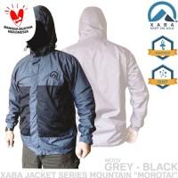 Jaket Gunung  Waterproof XABA Ranai - Green, Black, Grey