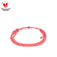 Gelang Tali Braided STRAWBERRY TuTu and Co.