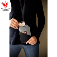 Tempat Hand Phone/ Tempat ID Card Warna Abu