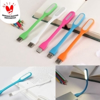 Lampu LED USB Flexible Stick Lamp Sikat Emergency Meja Baca Headunit