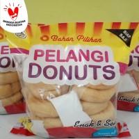 donat kentang pelangi donuts jumbo 500gr 10s potato donuts