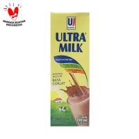 SUSU ULTRA MILK (UHT) - 200ml - Rasa Cokelat
