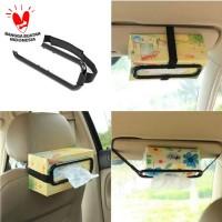 Tissue Paper Box Car Holder Penjepit Tisiu Mobil Tempat Tisu Organizer