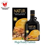Natur Shampo Shampoo Extract Ginseng 270ML