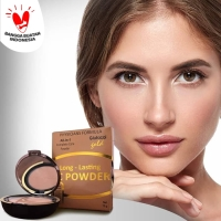 Glutacol Gold Long Lasting CC Powder / Bedak - Skincare Original BPOM