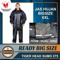 JAS HUJAN STELAN TIGER HEAD SUMO 275 (EXTRA LARGE 6XL )